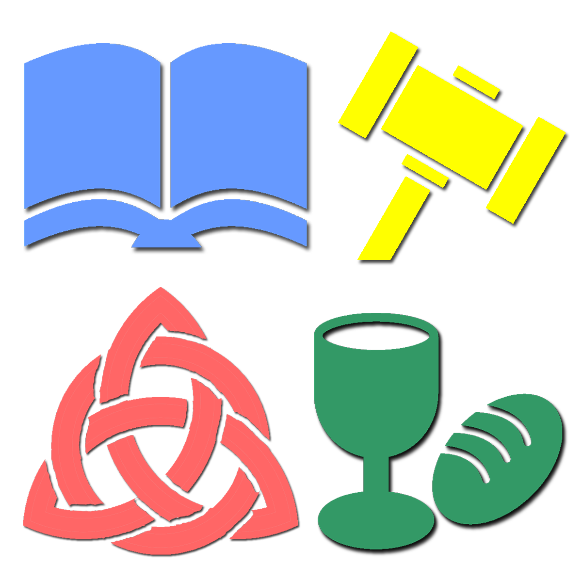 Icons for Exegesis, Polity, Theology, and Worship exams